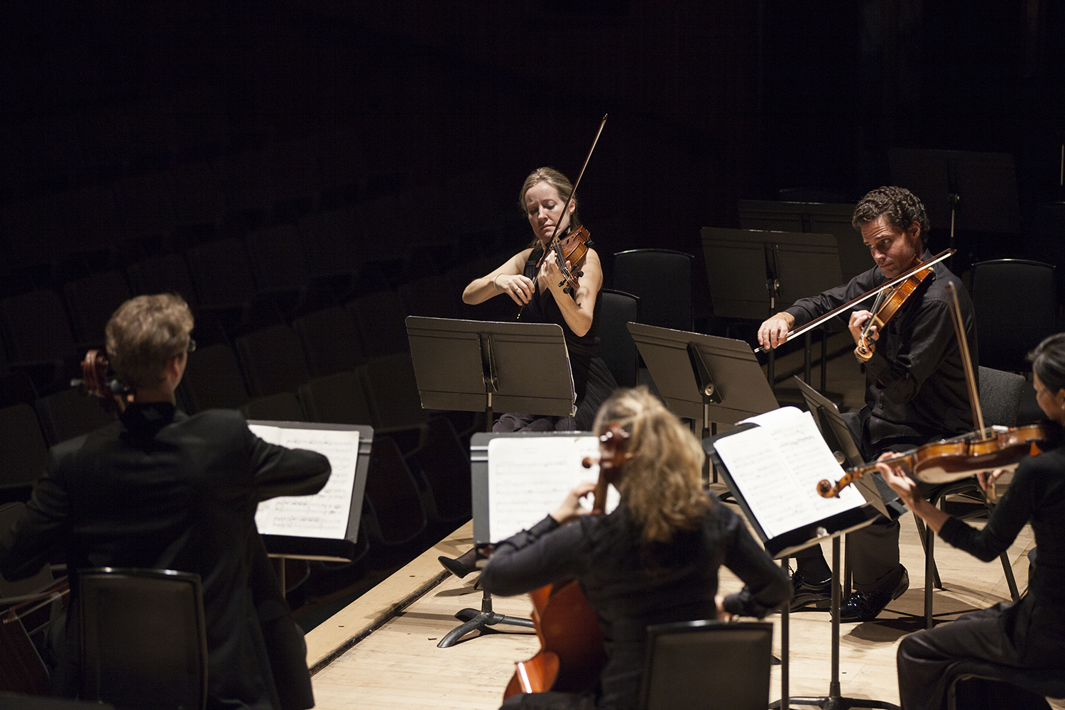 Philharmonia Chamber Players on stage