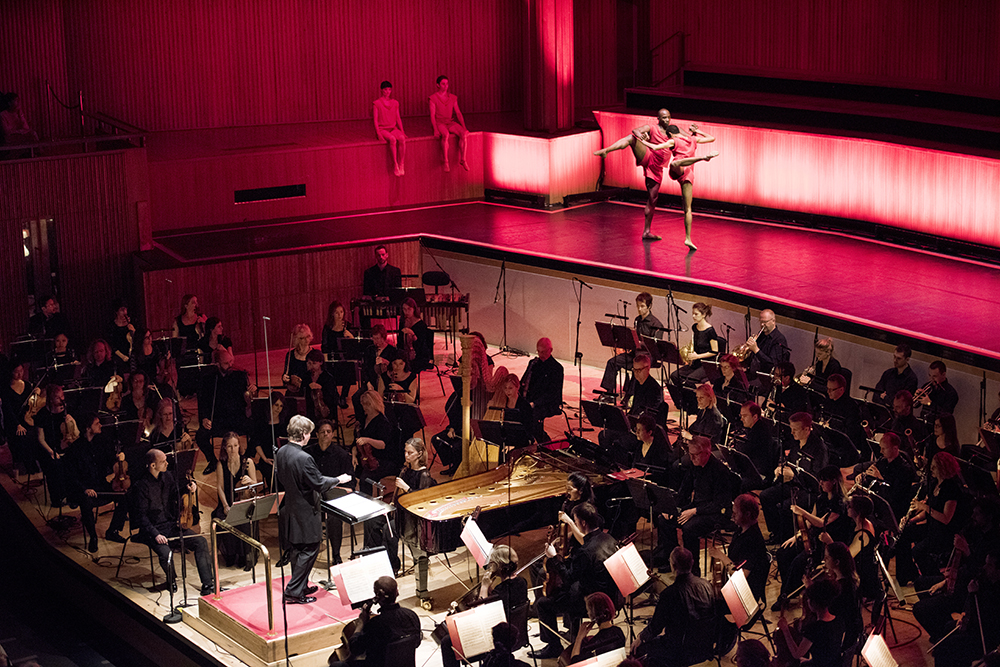 Live staging of music by Stravinsky at Royal Festival Hall
