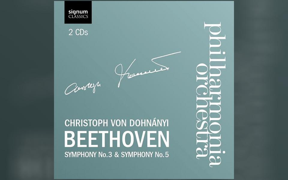 Beethoven Symphonies 3 and 5 CD cover