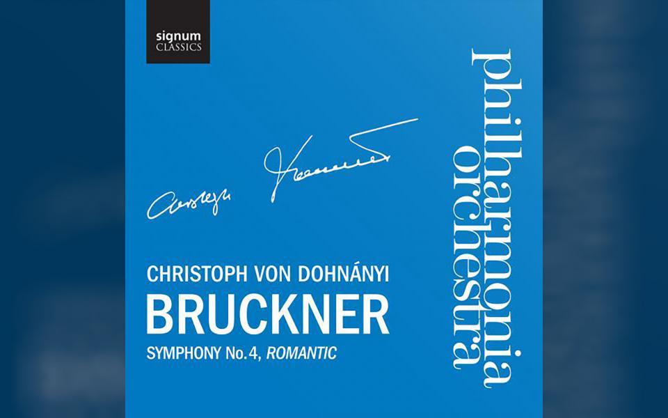 Bruckner Symphony No. 4 CD cover