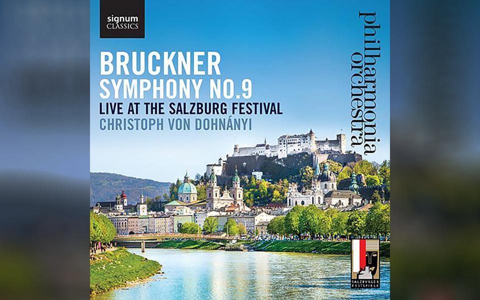 Bruckner Symphony No. 9 CD cover