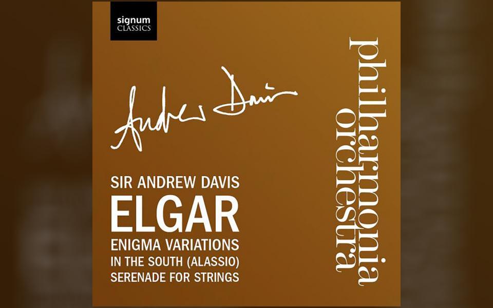 Elgar Enigma Variations CD cover