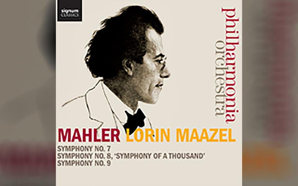 Mahler: SYmphonies Nos. 7, 8 & CD cover