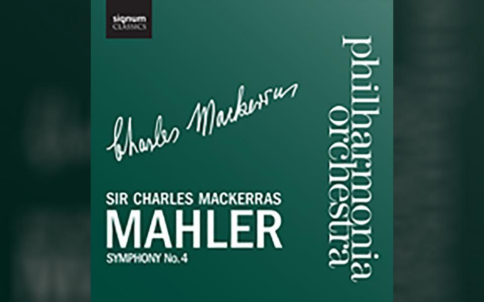 Mahler: Symphony No. 4 CD cover