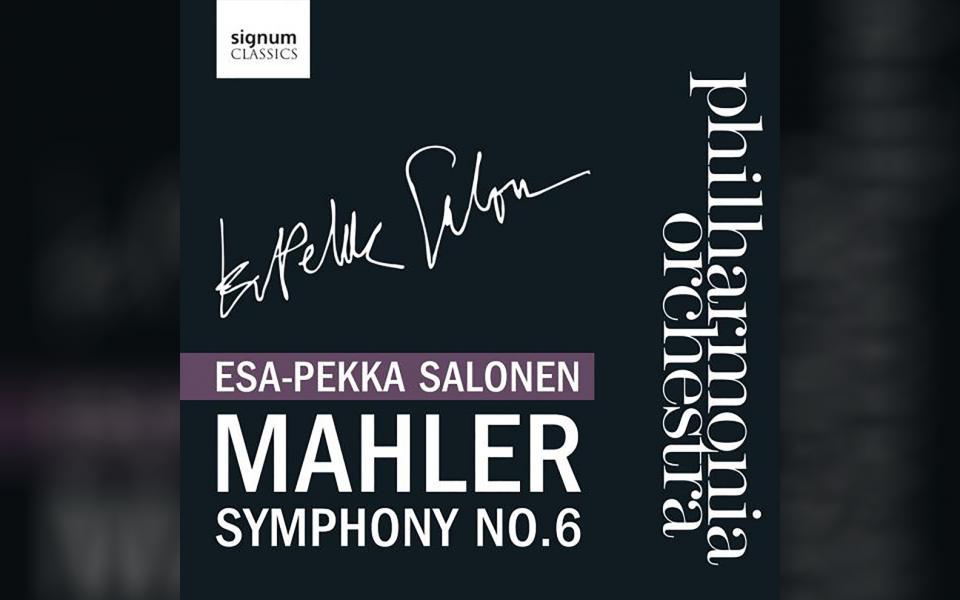 Mahler Symphony No. 6 CD cover
