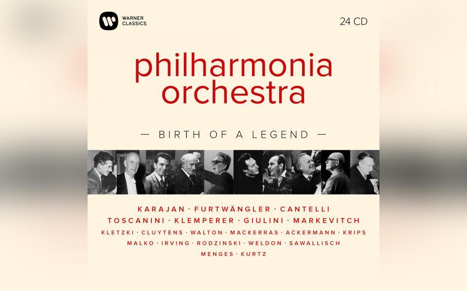 Philharmonia Orchestra - Birth of a Legend Box Set