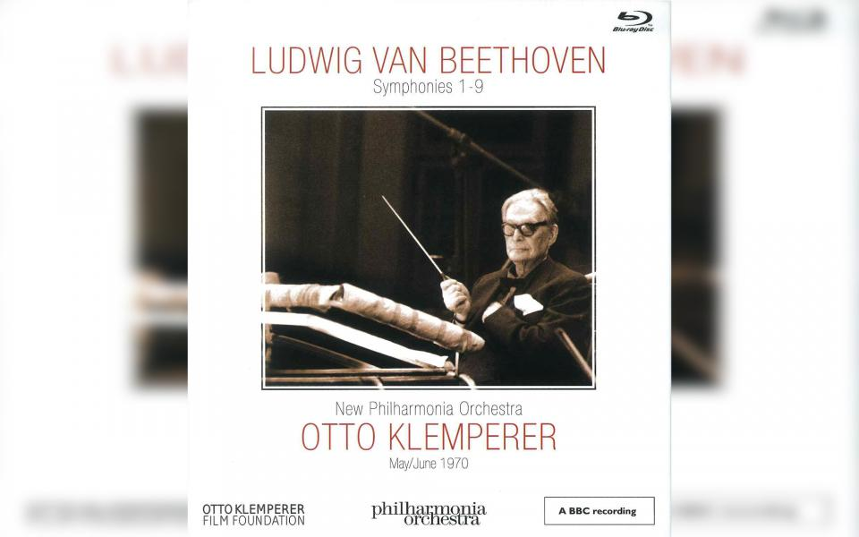 Cover for Otto Klemperer Beethoven Cycle BluRay