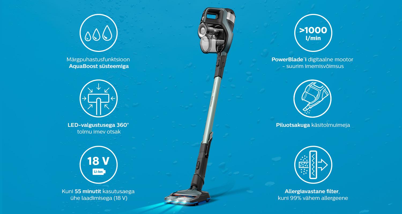 Philips Fc6902 Avastage Speedpro Max Aqua Tolmuimeja 2