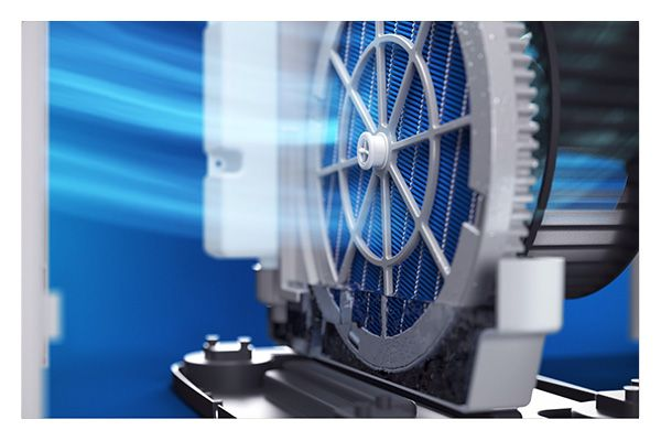 Philips Skuteczne pochłanianie wody oraz optymalna efektywność parowania