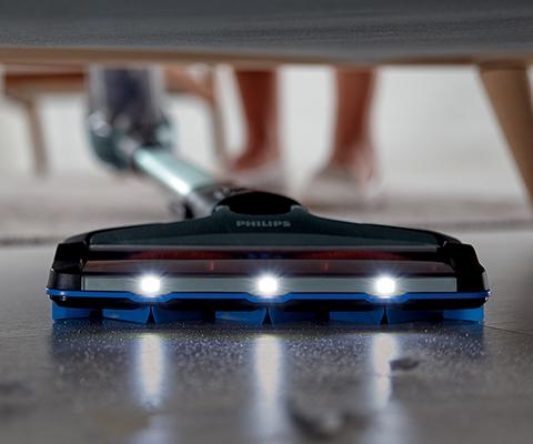 Philips Tänu LED-valgustusele märkate ja eemaldate iga mustusekübeme