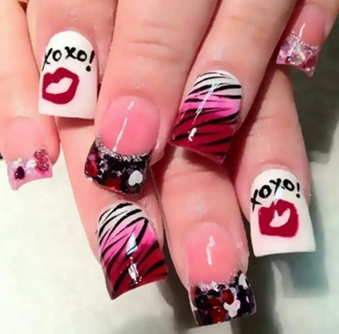 Salon valentines marketing ideas phorest blog valentines nails prinsesfo Choice Image