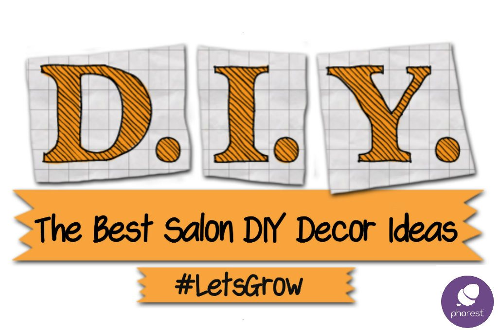 salon-diy decor ideas