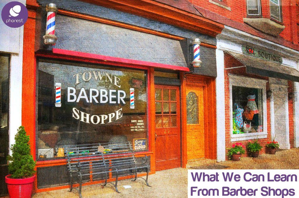 barber shop front