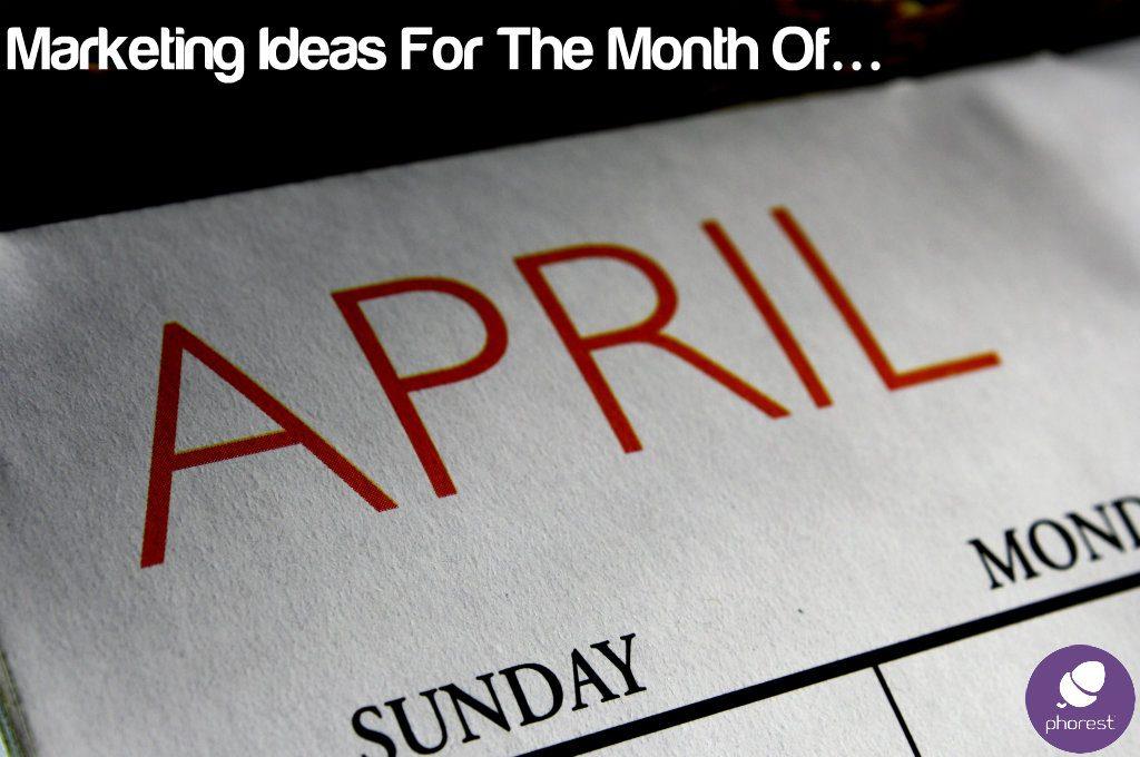 April salon marketing ideas calander