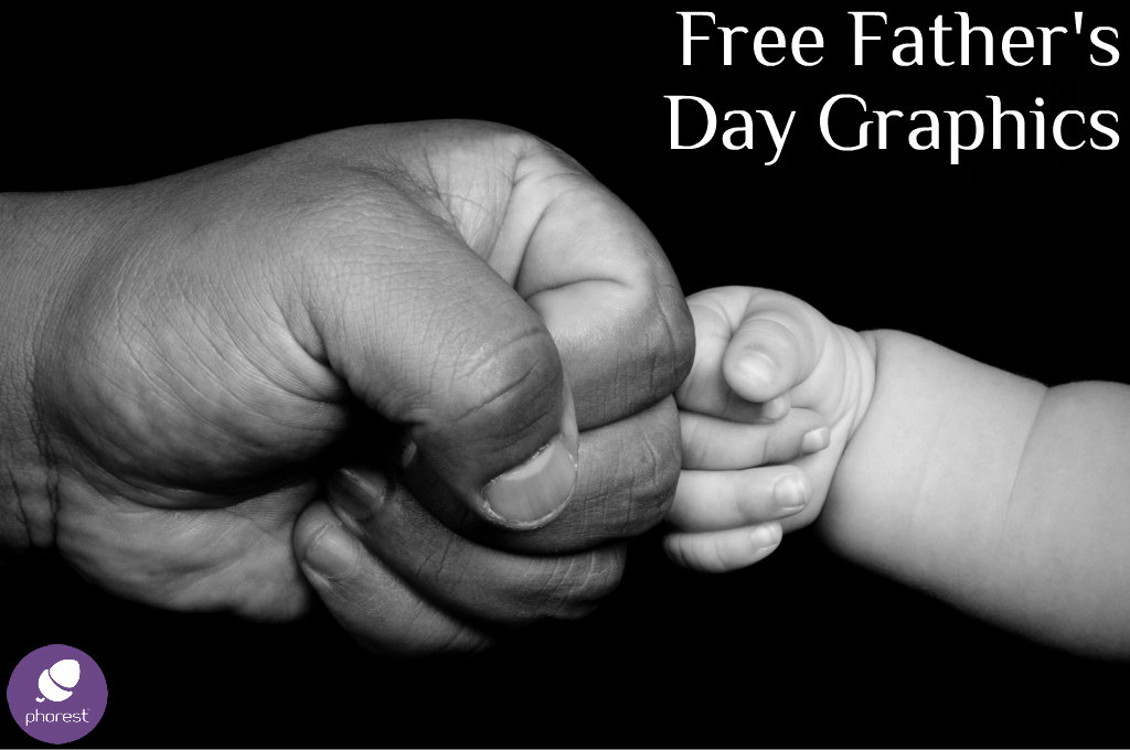 man and child fist bump fathers day picure