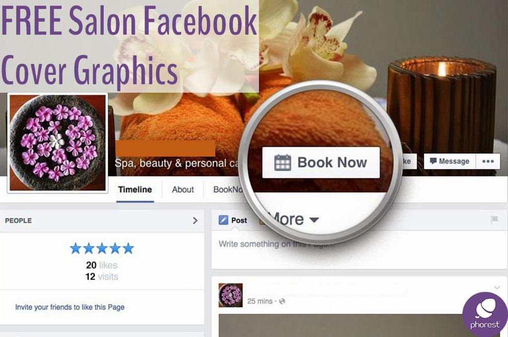 Salon Facebook Cover Graphic