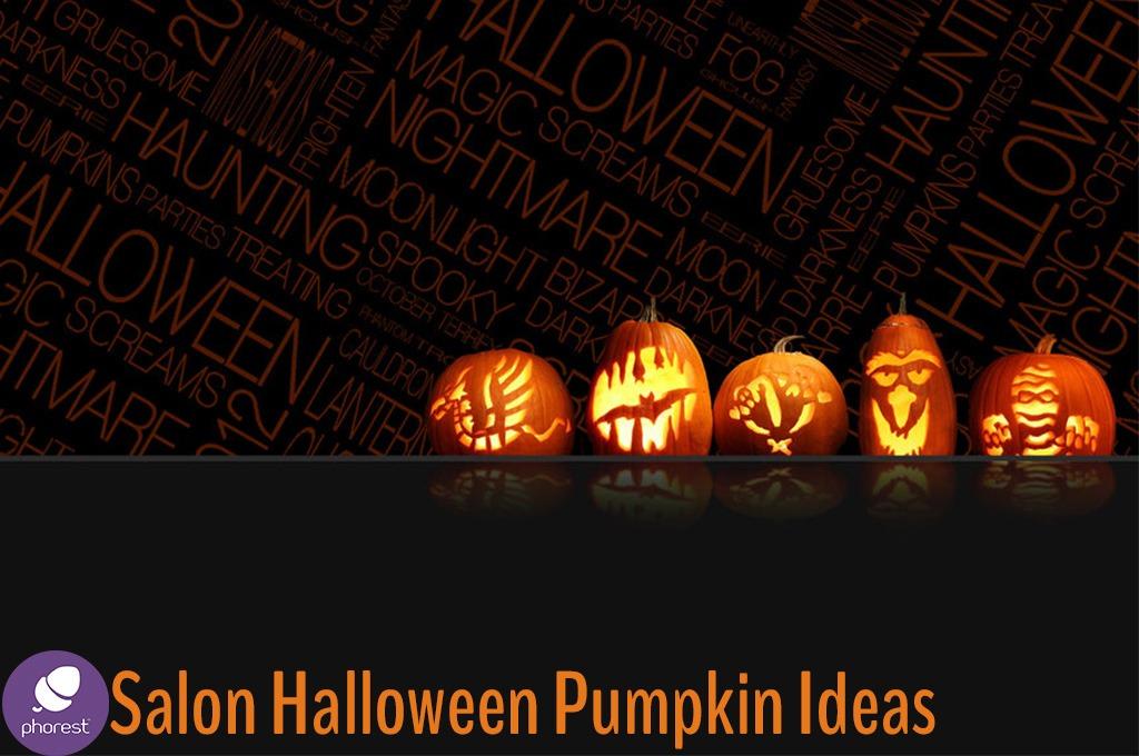 Salon halloween pumpkin carving ideas phorest