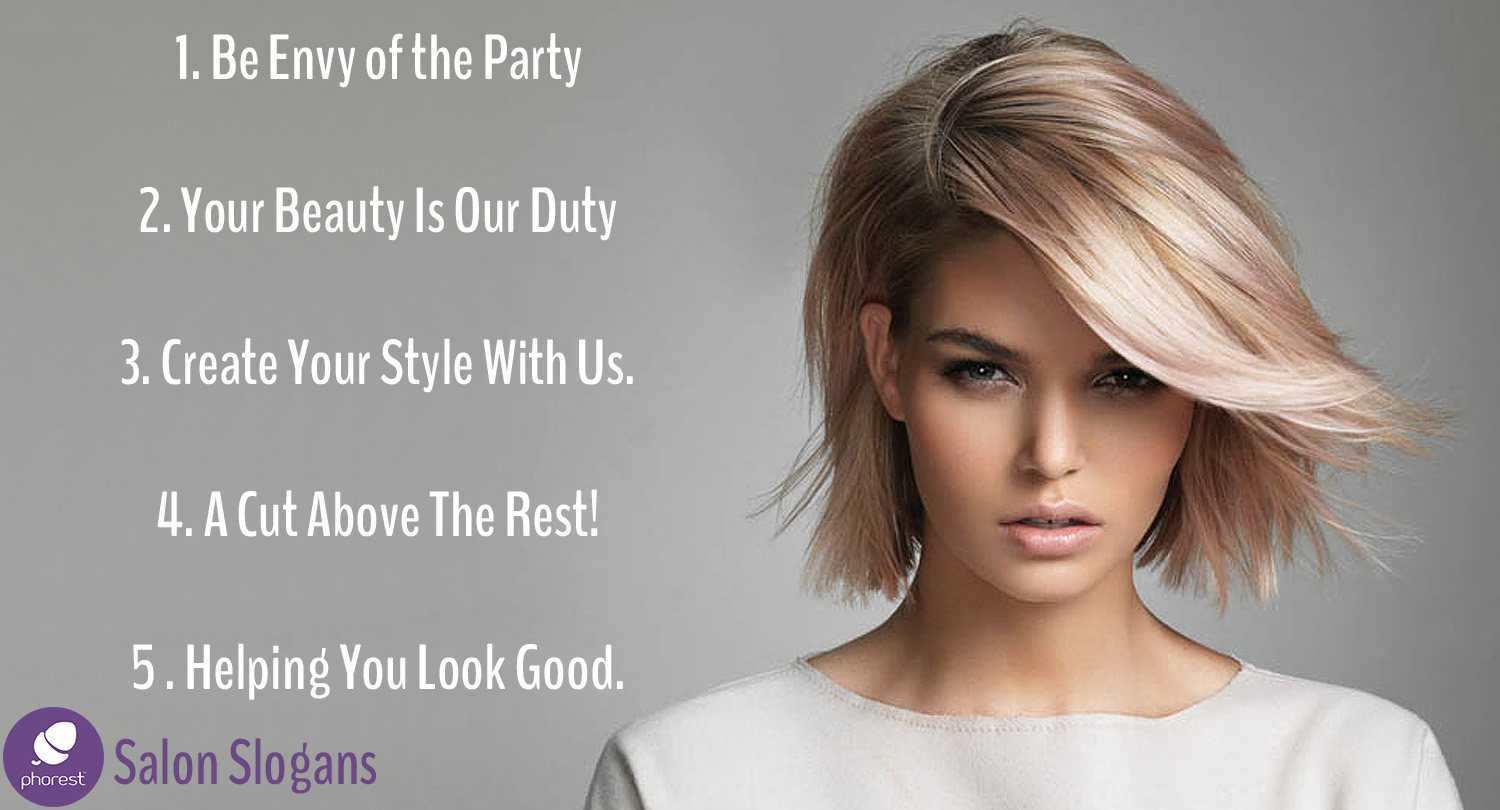 You Will Love These Salon Slogan Ideas Phorest Blog