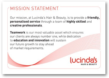 salon mission statement