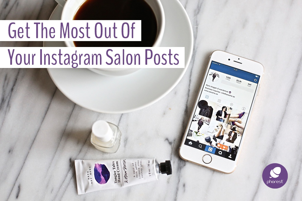 Instagram salon posts