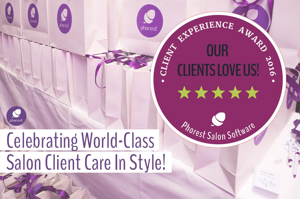 Phorest Client Experience Award 2016