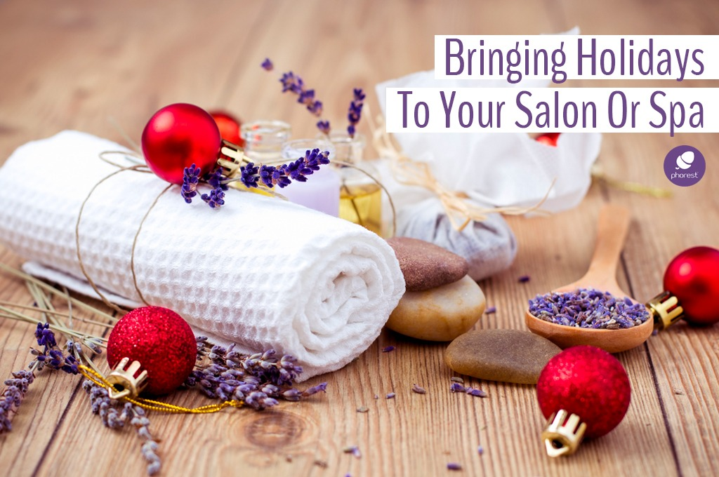 12 christmas salon decor ideas to create moments of magic for Salon xmas decorations