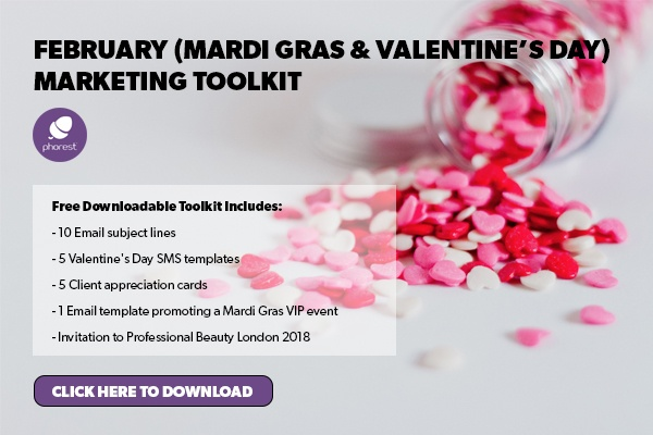 valentine's day salon marketing ideas