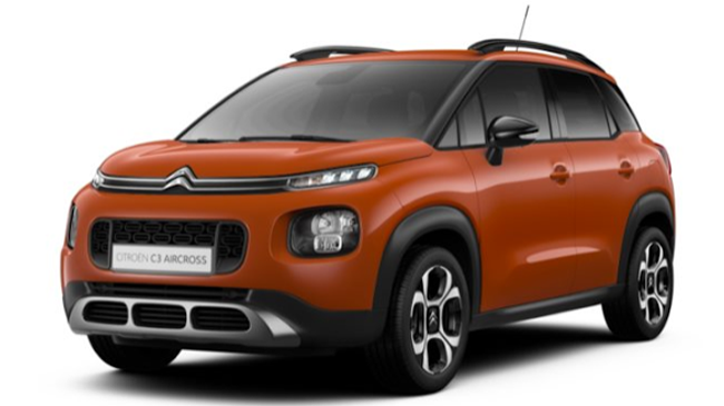 citroen c3 aircross 1 2 puretech 110 s s feel neuve essence 5 portes les mureaux le de france. Black Bedroom Furniture Sets. Home Design Ideas