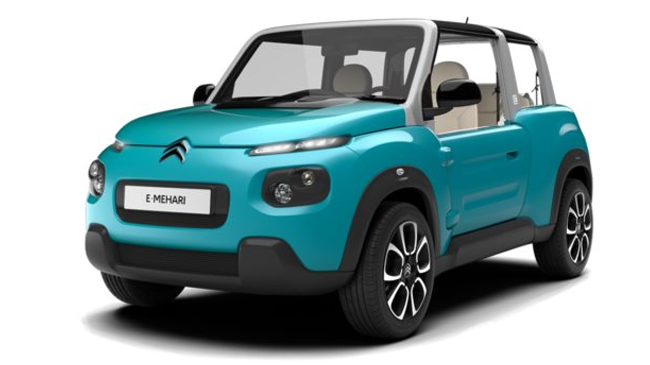 citroen e mehari e mehari neuve electrique 3 portes v nissieux auvergne rh ne alpes. Black Bedroom Furniture Sets. Home Design Ideas