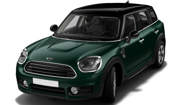 British Racing Green métallisé/toit noir