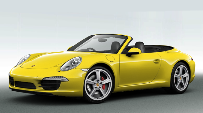 Jaune Porsche Racing
