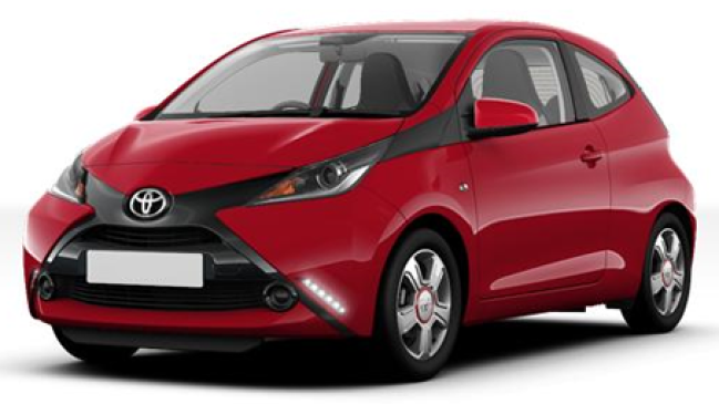 toyota aygo 2 ii 1 0 vvt i 4cv x play 5p neuve essence 5. Black Bedroom Furniture Sets. Home Design Ideas