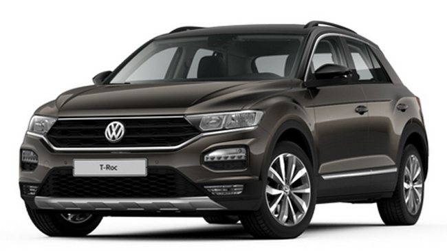 volkswagen t roc 1 5 tsi 150 evo carat exclusive dsg7. Black Bedroom Furniture Sets. Home Design Ideas