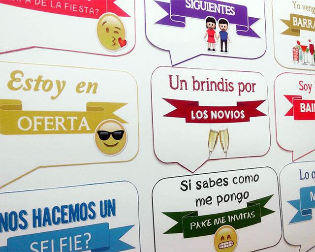 Carteles Con Frases Para Fiestas Photocallme