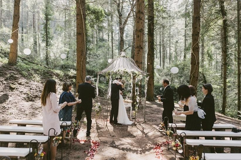 boda temática montaña