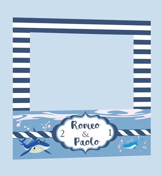 marco infantil photocall marinero