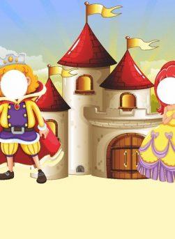 photocall castillo infantil