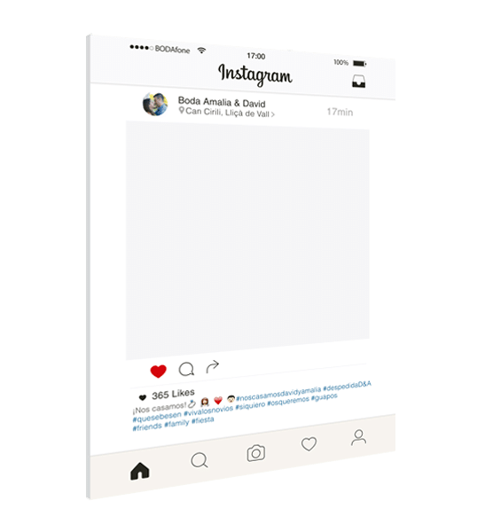 marco instagram nuevo