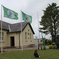 002-3rd Green Flag for Curravagh National School 038