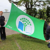 003-3rd Green Flag for Curravagh National School 039