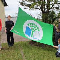 004-3rd Green Flag for Curravagh National School 042