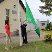 006-3rd Green Flag for Curravagh National School 045