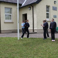 009-3rd Green Flag for Curravagh National School 048