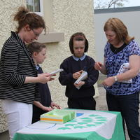032-3rd Green Flag for Curravagh National School 090