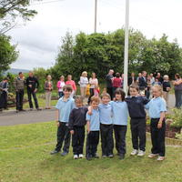 056-3rd Green Flag for Curravagh National School 121