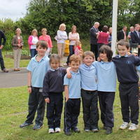 057-3rd Green Flag for Curravagh National School 122
