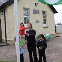 080-3rd Green Flag for Curravagh National School 150