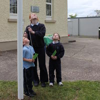 081-3rd Green Flag for Curravagh National School 151
