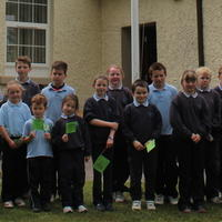 082-3rd Green Flag for Curravagh National School 155