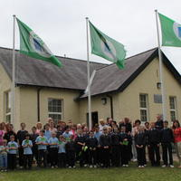 087-3rd Green Flag for Curravagh National School 160